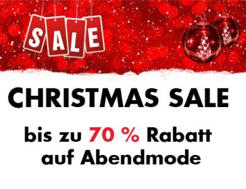 Christmas Sale 2018 – Dein Abendkleid zum Schnäppchenpreis!