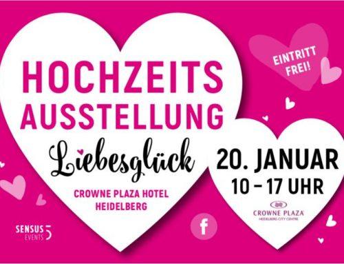 Hochzeitsmesse Liebesglück in Heidelberg 2019
